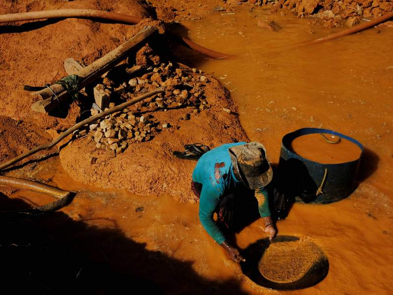 Illegal Gold Rush Destroying Amazon Rainforest