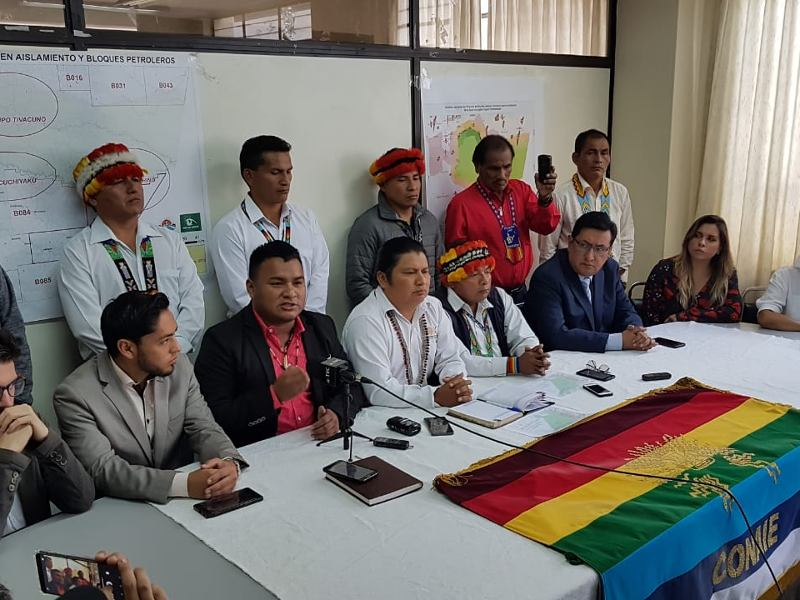 Ecuadorian Indigenous People File Legal Action Over Rainforest Mining Project