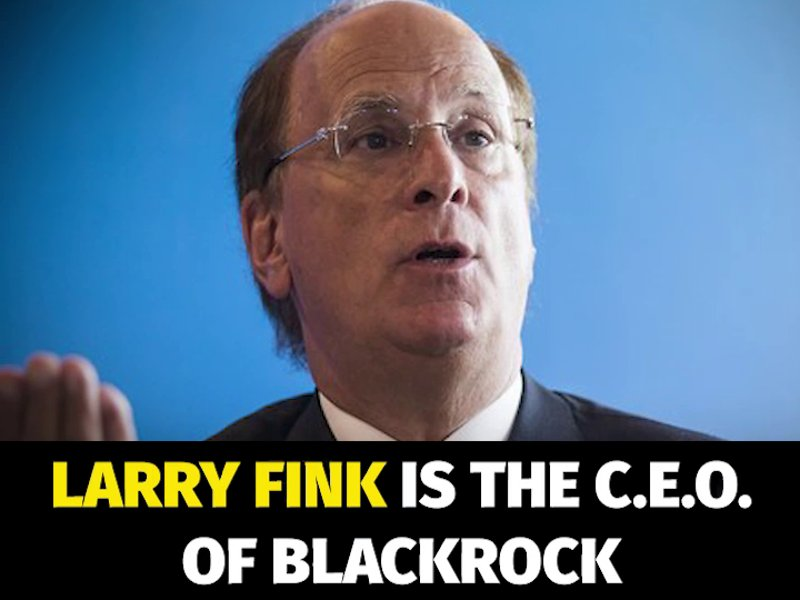 More Pathetic Excuses from BlackRock's CEO