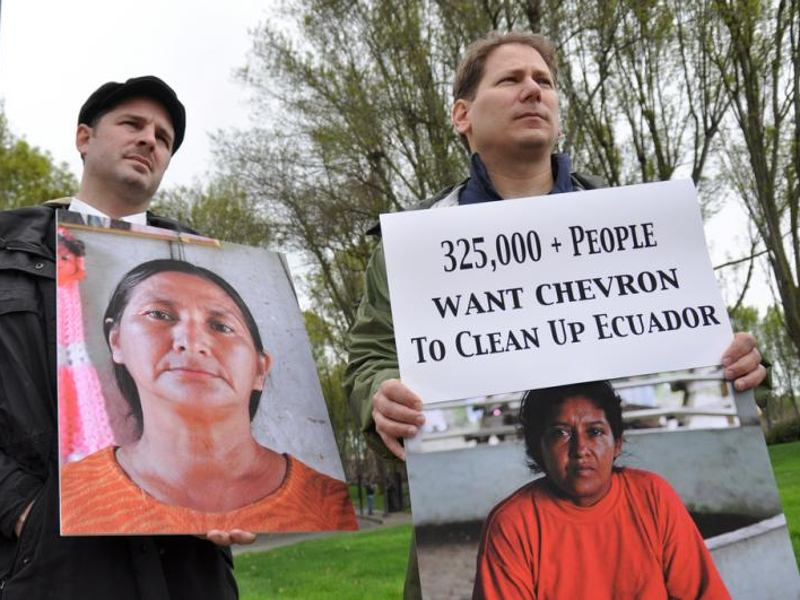 Chevron's Legal Thuggery Run Amok