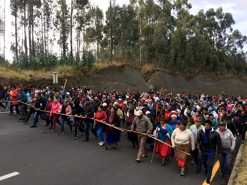 Amazon Watch Statement on the National Strike by Ecuador's Indigenous Movement