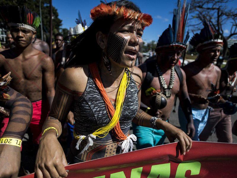 Brazilian Indigenous Leaders to European Leaders: Not a Single Drop More of Indigenous Blood