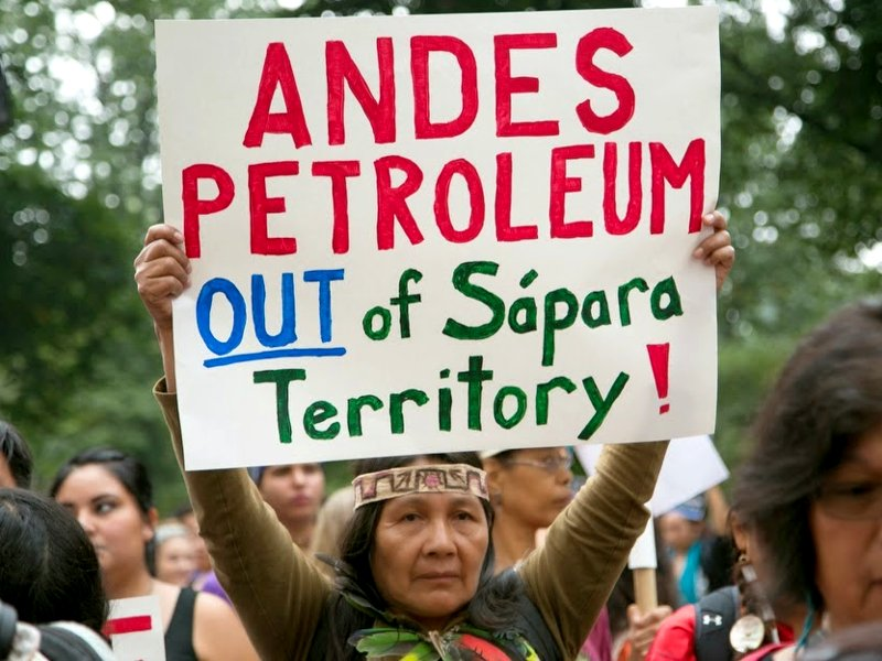 Historic Victory in the Fight for Indigenous Rights and to End Amazon Crude