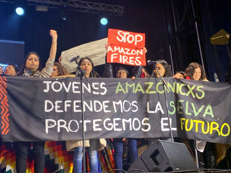 The New Hope: Indigenous and Youth Voices Rise for Climate Justice Despite Failure of COP25