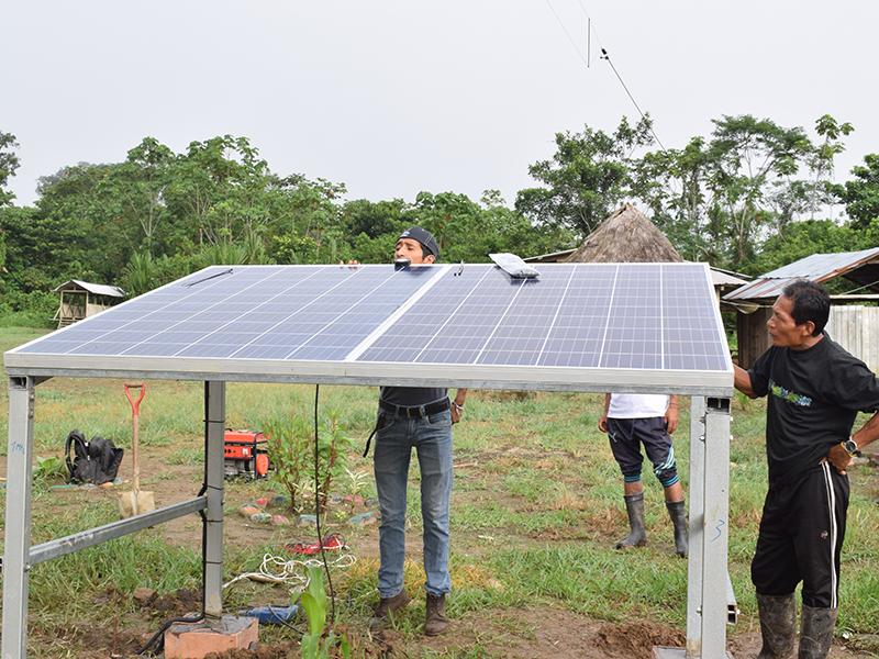 Solar Comms install 4
