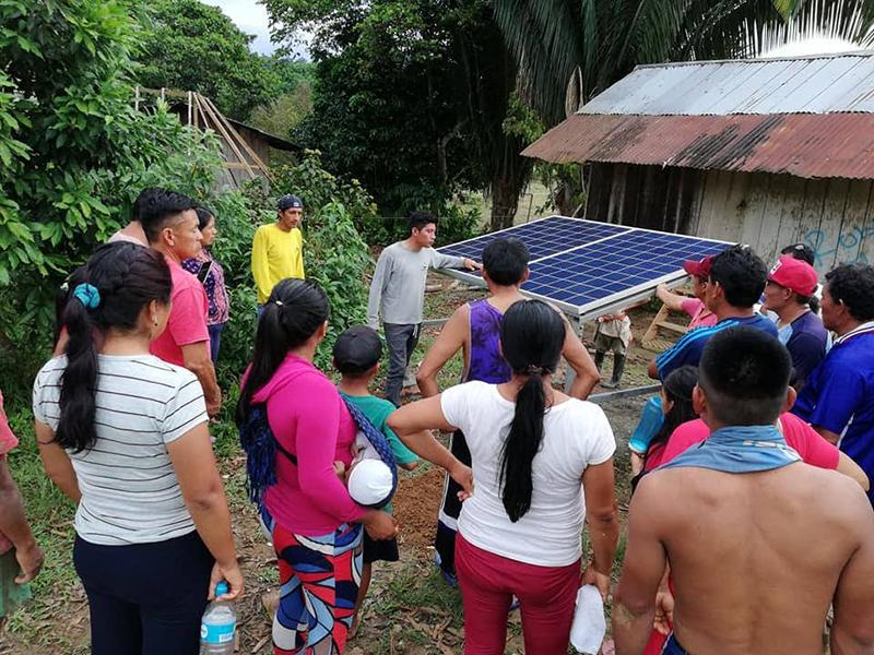 Solar Comms install 06