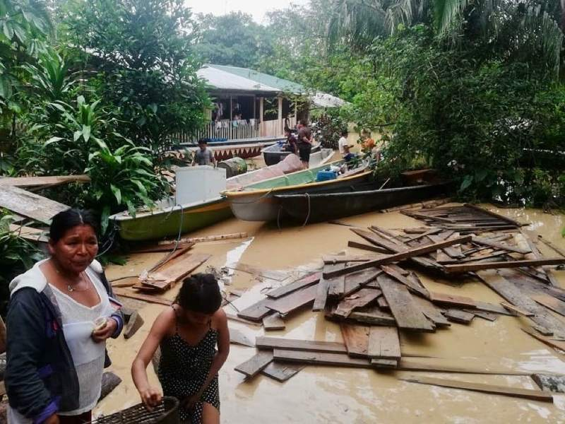 Thousands of Indigenous People in the Ecuadorian Amazon in Urgent Need After Extreme Floods