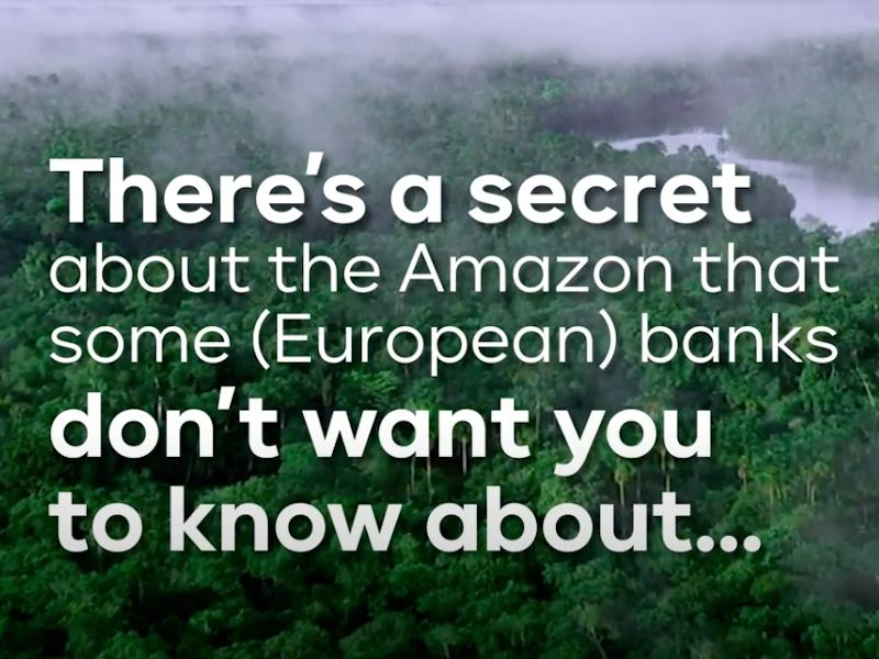 Trading in Pollution: European Banks Bankroll Billions in Amazon Oil