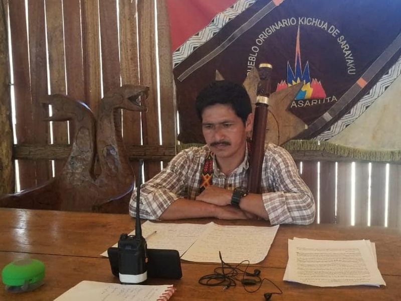 Indigenous Peoples of the Ecuadorian Amazon Denounce Rights Violations and Government Inaction During COVID-19 Pandemic Before the Inter-American Commission on Human Rights