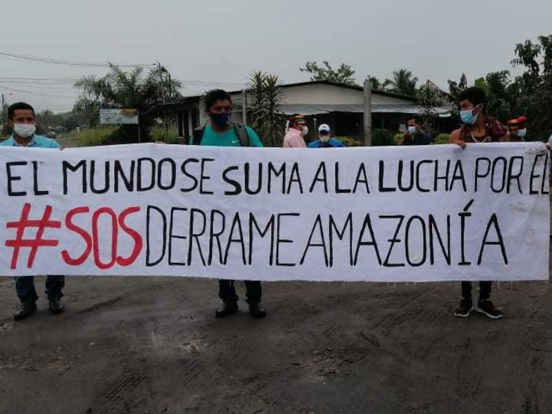 Amazonian Indigenous Peoples Demand Justice One Year After Ecuador Oil Spill