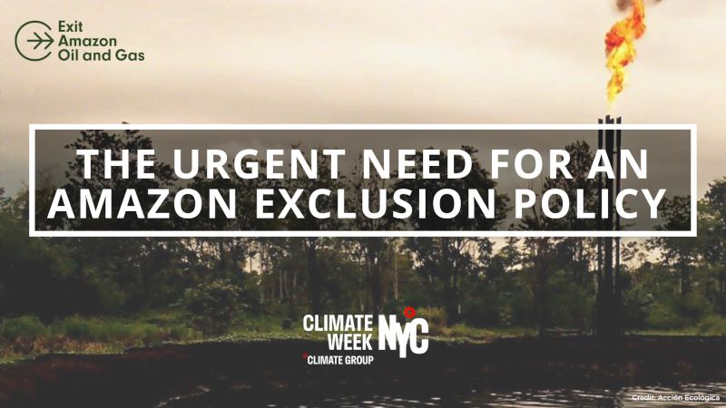 Exit Amazon Oil and Gas