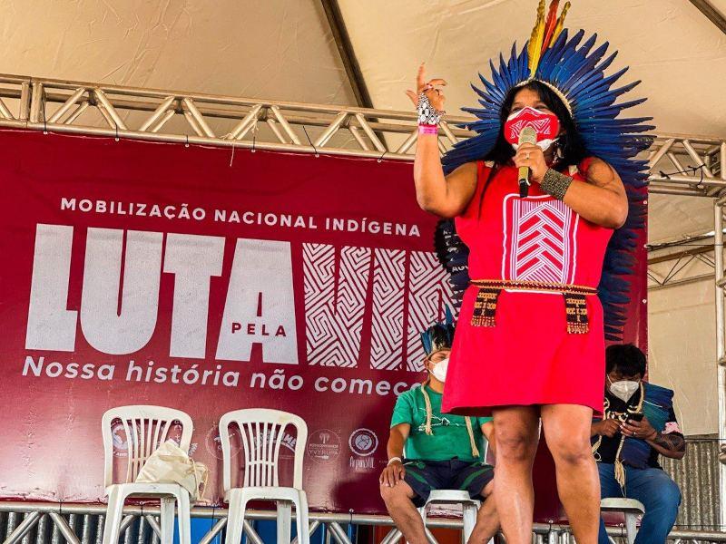 Sonia Guajajara. Photo credit: Scott Hill
