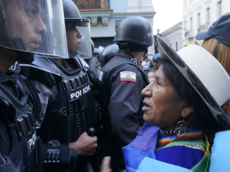 UN: Call on Ecuador to Stop Criminalization of Indigenous Leaders