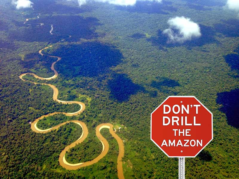 China: Don't Drill the Amazon!