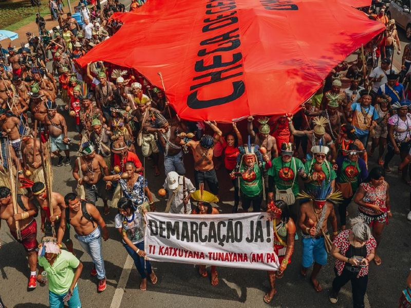 Halt the Brazilian Government's Assault on Indigenous Peoples!