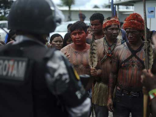 Peace and Respect in the Amazon!