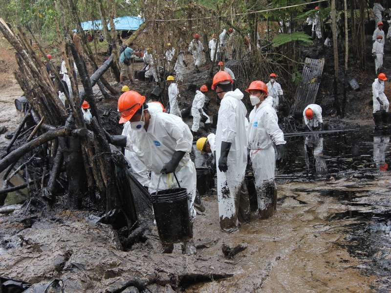 Peru: CLEAN UP Oil Spills in the Amazon and Support Affected Communities