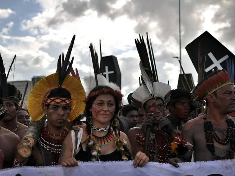 Protect the Amazon and the World's Climate – Hands Off Indigenous Land Rights!