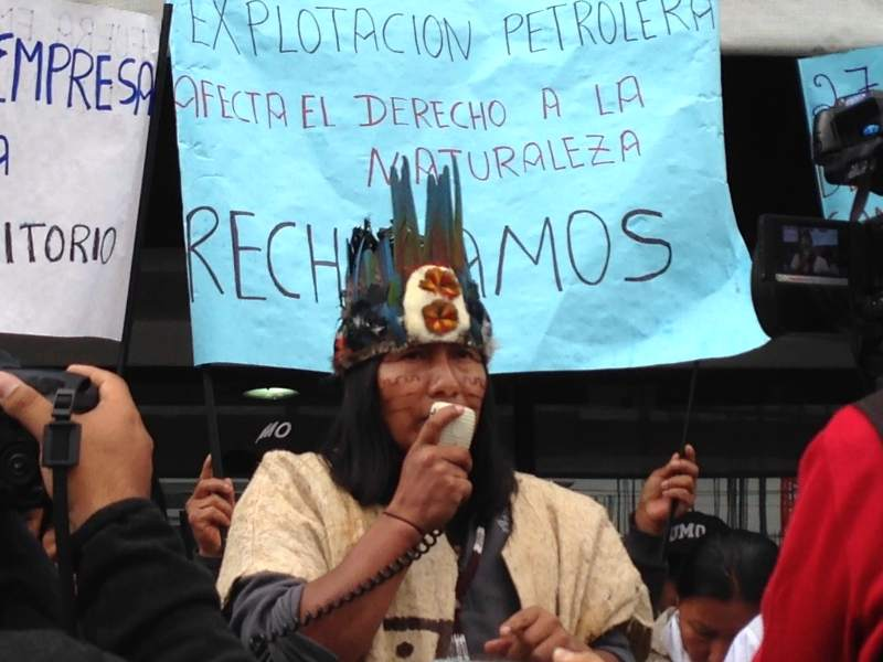 Stand with the Sápara People to Defend Their Territory Against Oil Exploration
