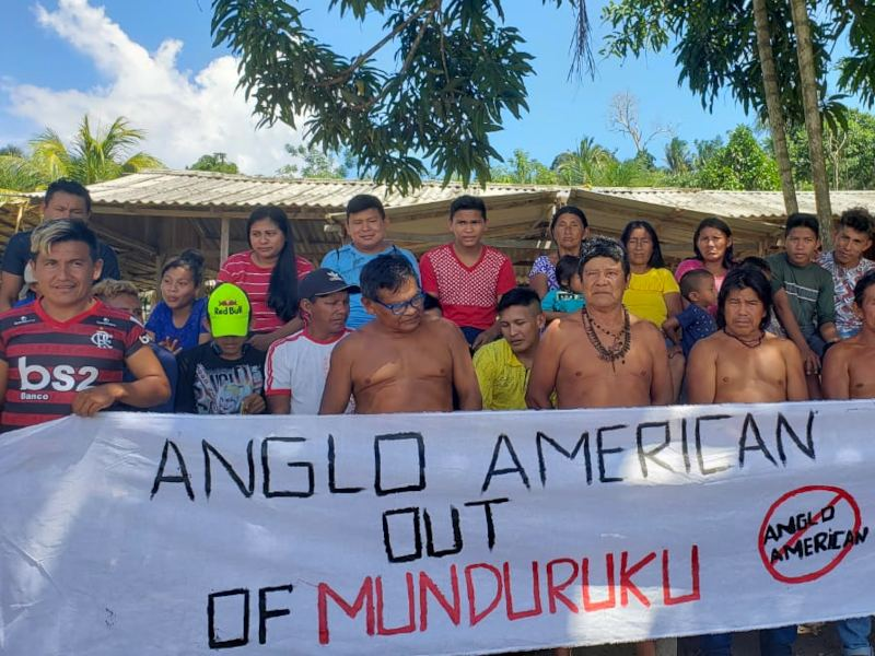 Tell Anglo American to Stay Out of Munduruku Territory!